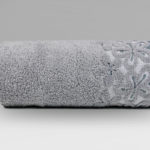 szare ręczniki bella